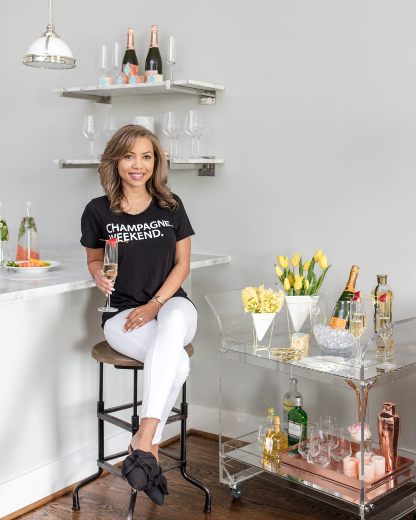Danai Sky, Champagne Darling, Blog, Blogger, lifestyle, dc blogger, entertaining, hostess, modern hostess