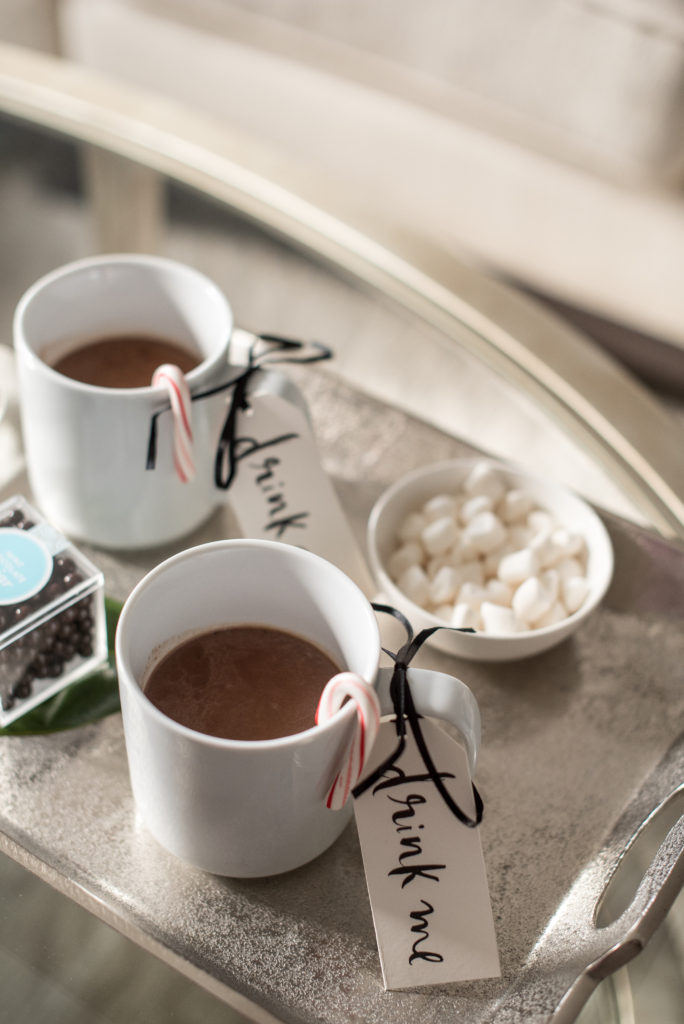 hot chocolate, recipe, entertain, at home