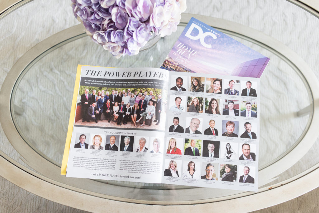 DC, Modern Luxury, DC Modern Luxury, Magazine, Featured In, Power Players, Real Estate, Long & Foster Real Estate, Danai Mattison Sky, Realtors, top producers