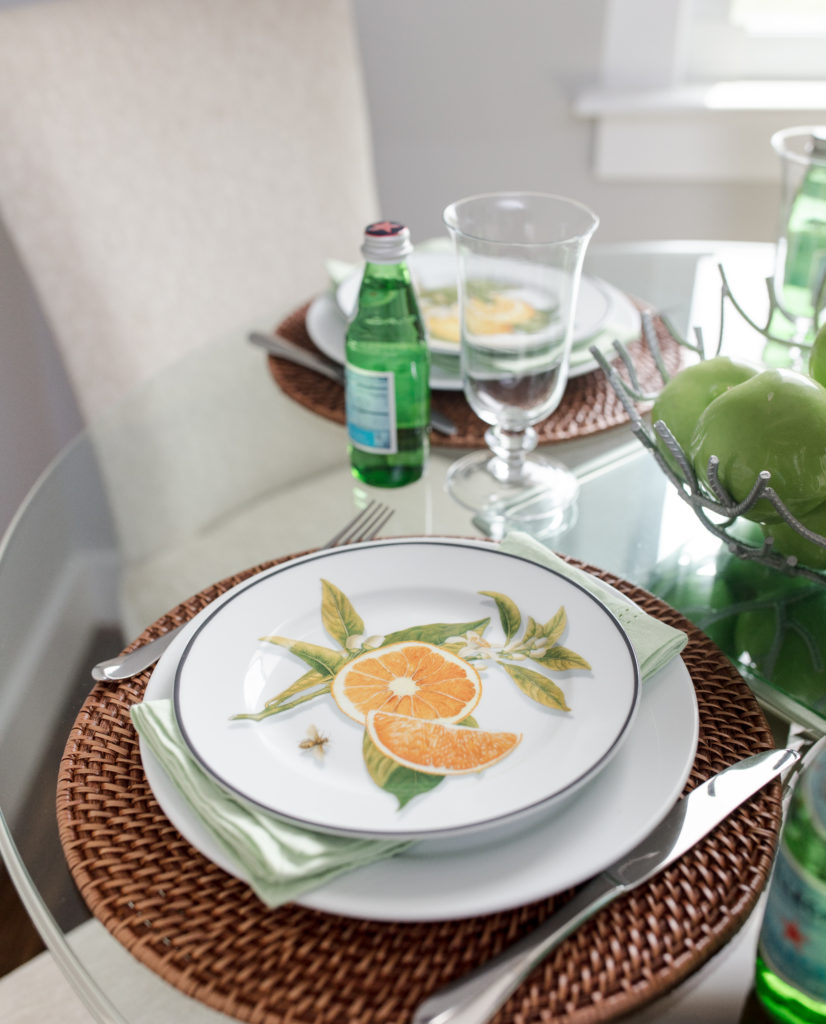 tablescape, table setting, hostess, country style, casual, dining, eat, entertain