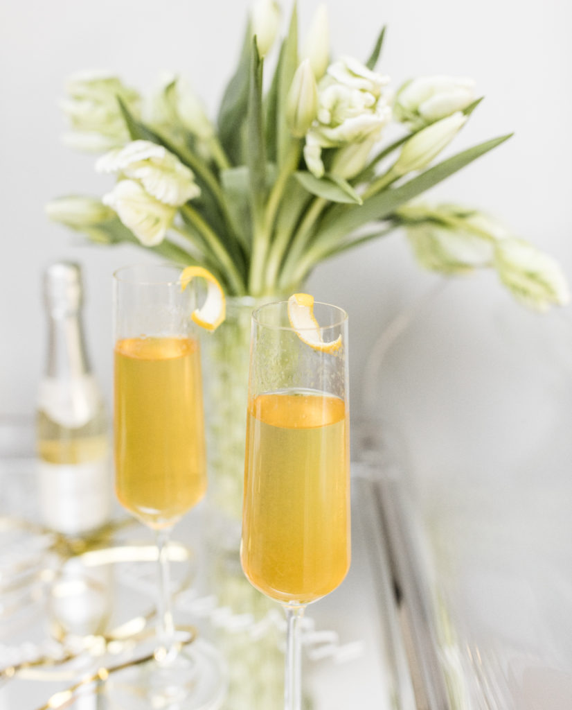 french 75, cocktail, recipe, new years, new years eve, champagne, le grand courtage