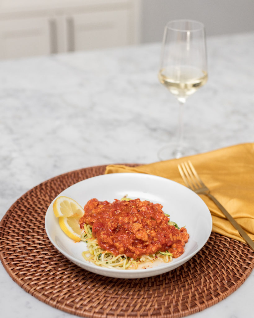 raos, arrabbiata, spaghetti, sauce, zoodles, zucchini noodles, weeknight recipes, how to, recipe