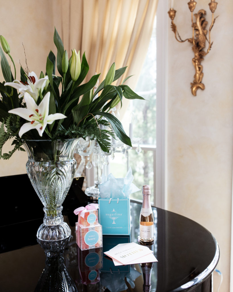 Mothers Day Gifts, ideas, what to give, mothers day, sugarfina, flowers, candy, champagne, wine, winc, le grand courtage