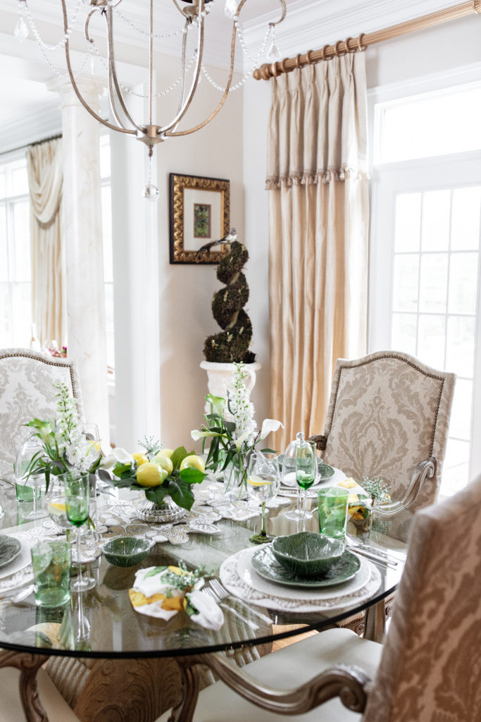 how to be a great hostess, entertaining, summer, seasonal, tablescape, table setting, dinner party