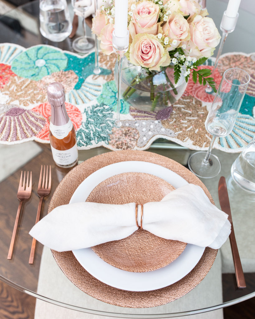 summer, table setting, tablescape, entertaining, entertain, hostess, tabletop, dinner party