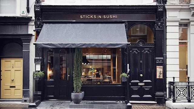 sticks n sushi, covent garden, sushi, london